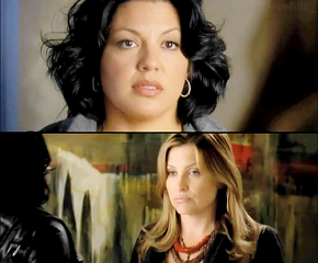 Callie and Arizona from Grey's Anatomy